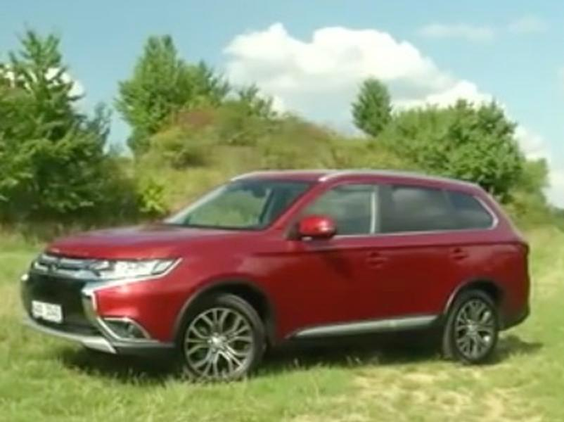 Video test Mitsubishi Outlander 2.2 DI-D