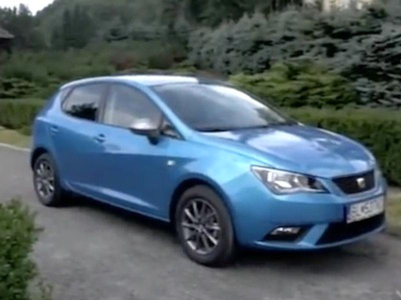 Video test Seat Ibiza 1,2 TSI