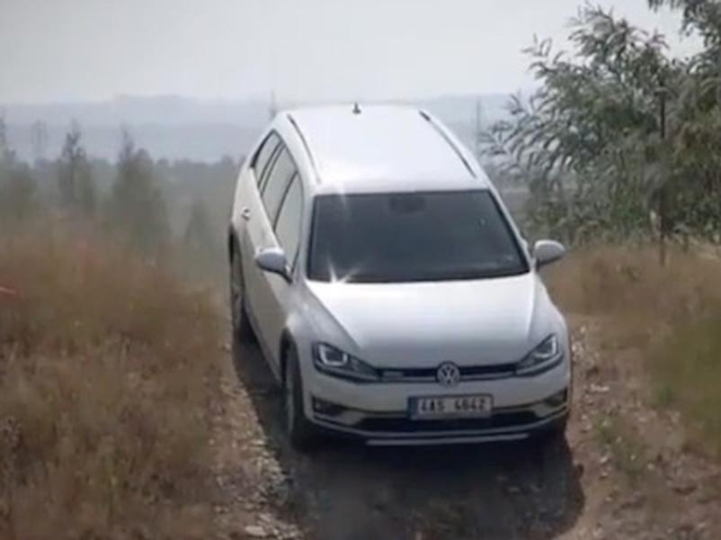 Video test VW Golf Alltrack 2.0 TDI 4Motion