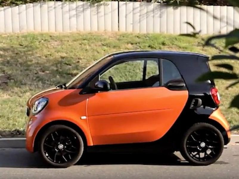 Video test Smart Fortwo