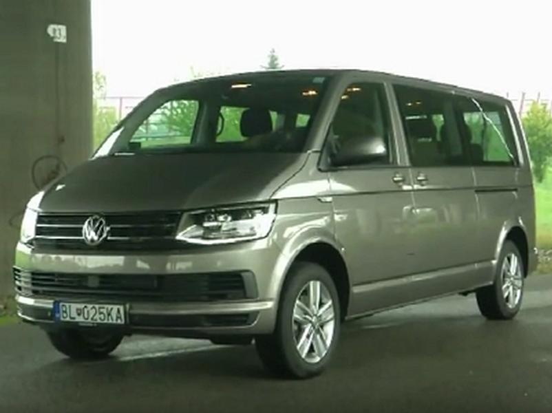 Video test VW Caravelle 2,0 TDI