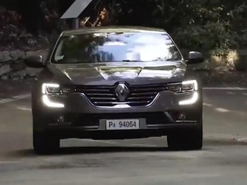 Video test Renault Talisman 1.6 dCi