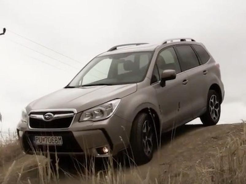 Video test Subaru Forester 2.0 D