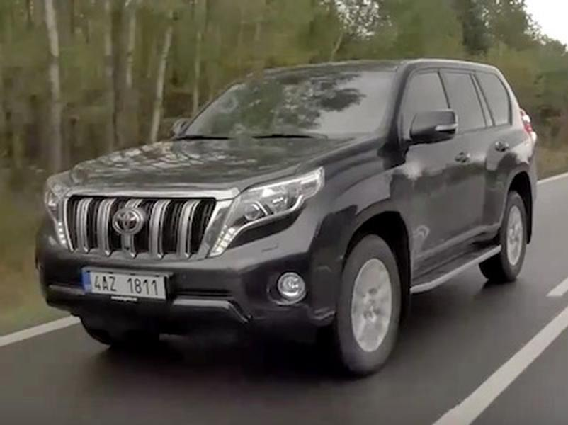 Video test Toyota Landcruiser 150 2,8 D-4D