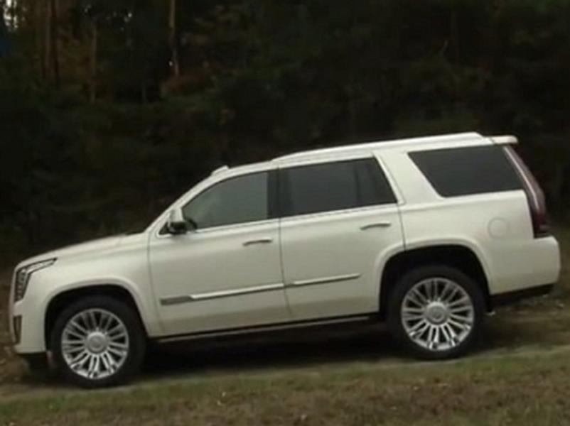 Video test Cadillac Escalade AWD