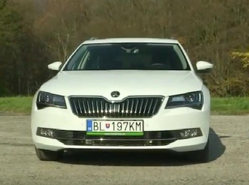 Test Škoda Superb Kombi 2.0 TSI
