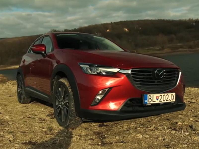 Video test Mazda CX-3 1.5 Skyactiv-D