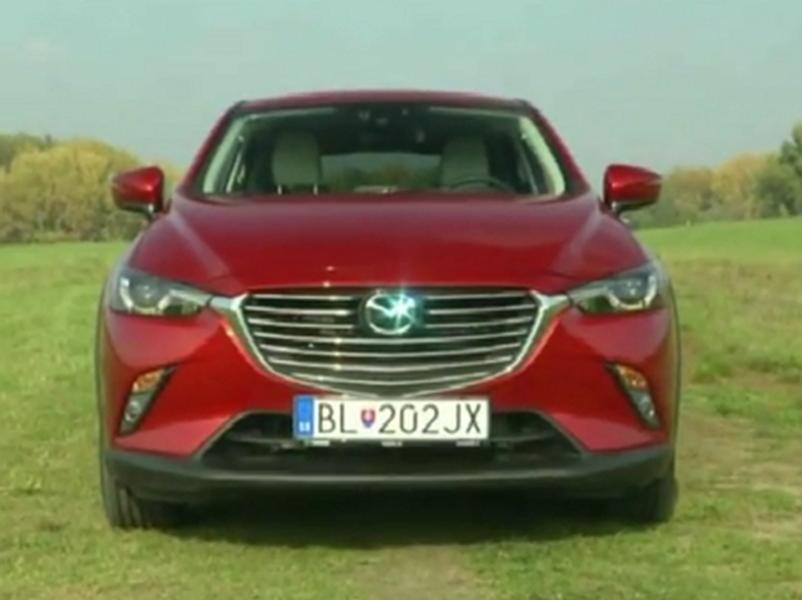 Video test Mazda CX-3
