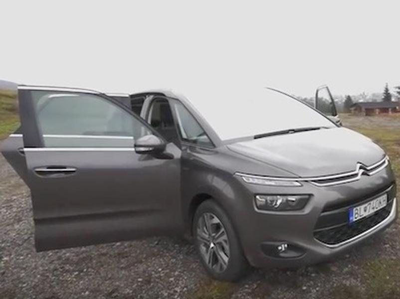 Video test Citroen C4 picasso 1.2 PureTech
