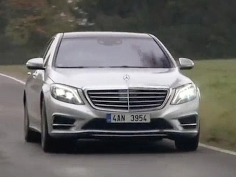 Video test Mercedes Benz S 500 4Matic L