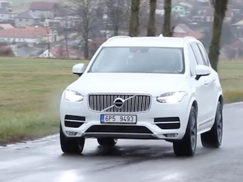 Video test Volvo XC90 D5