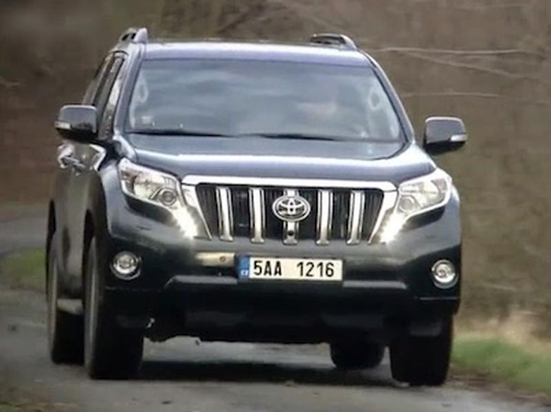 Video test Toyota Land Cruiser 2.8 D-4D