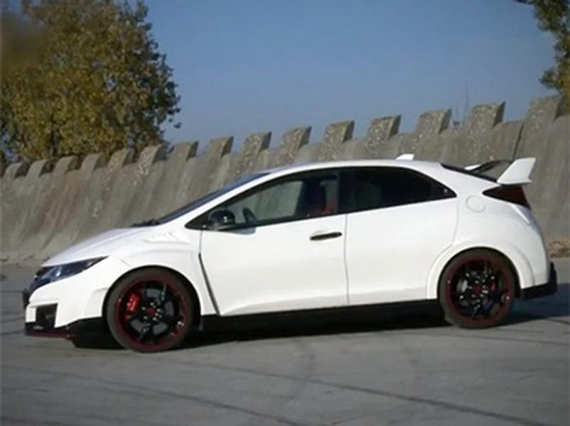 Test Honda Civic Type R GT