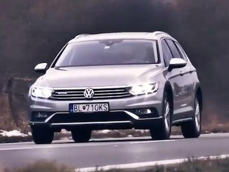 Video test VW Passat Alltrack 2.0 BiTDi