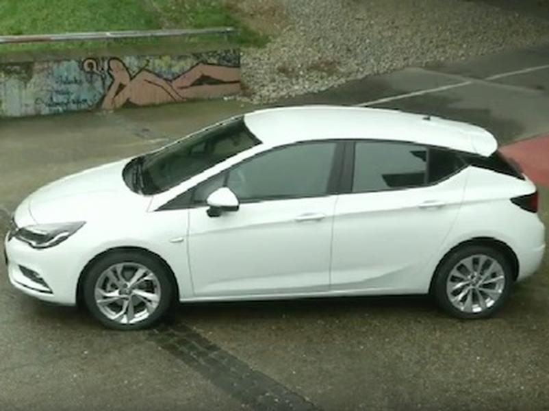 Video test OPEL ASTRA 1.0 Turbo
