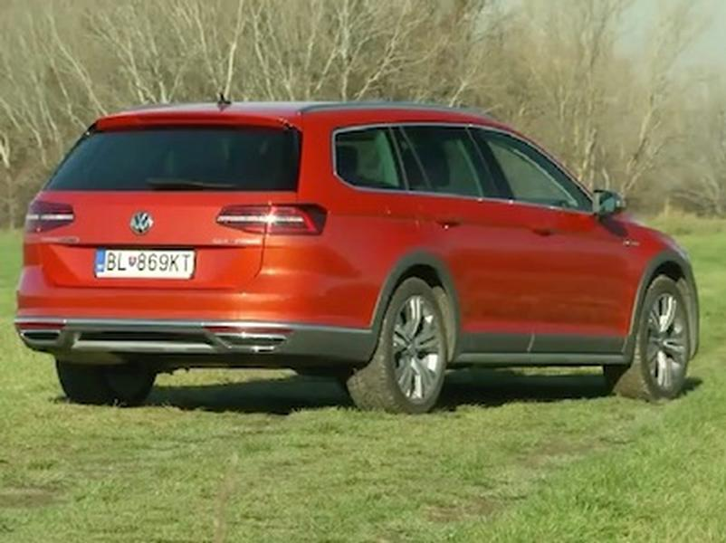 Video test VW Passat AllTrack 2.0 TDI