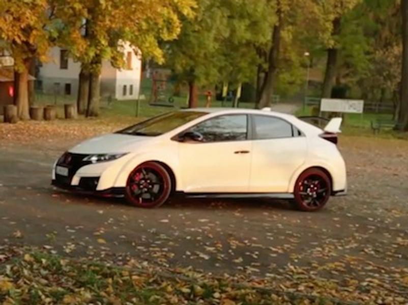 Video test Honda Civic Type R 2.0 VTEC Turbo