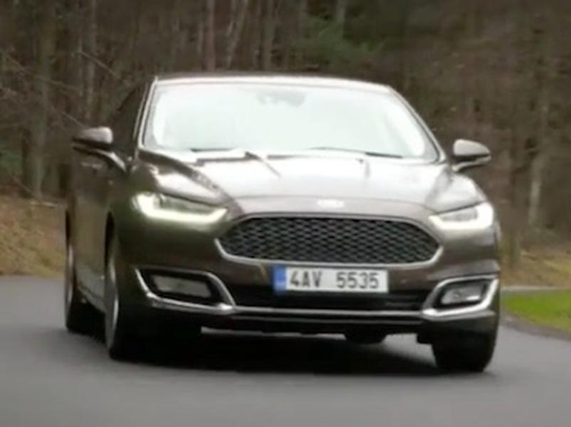 Video test Ford Mondeo 2.0 EcoBoost Vignale
