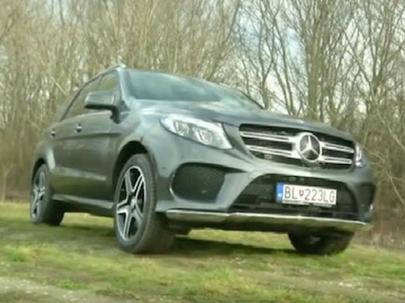 Test MERCEDES-BENZ GLE 500e