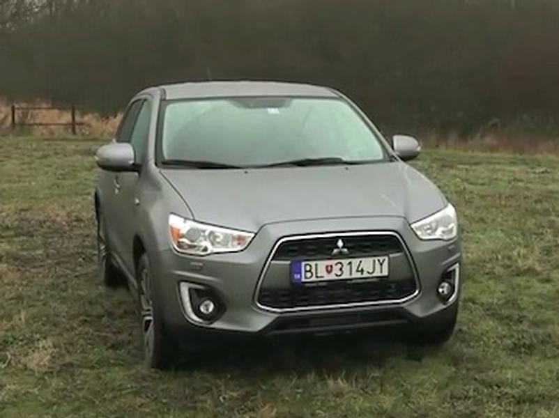 Video test Mitsubishi ASX 1,6 DI-D