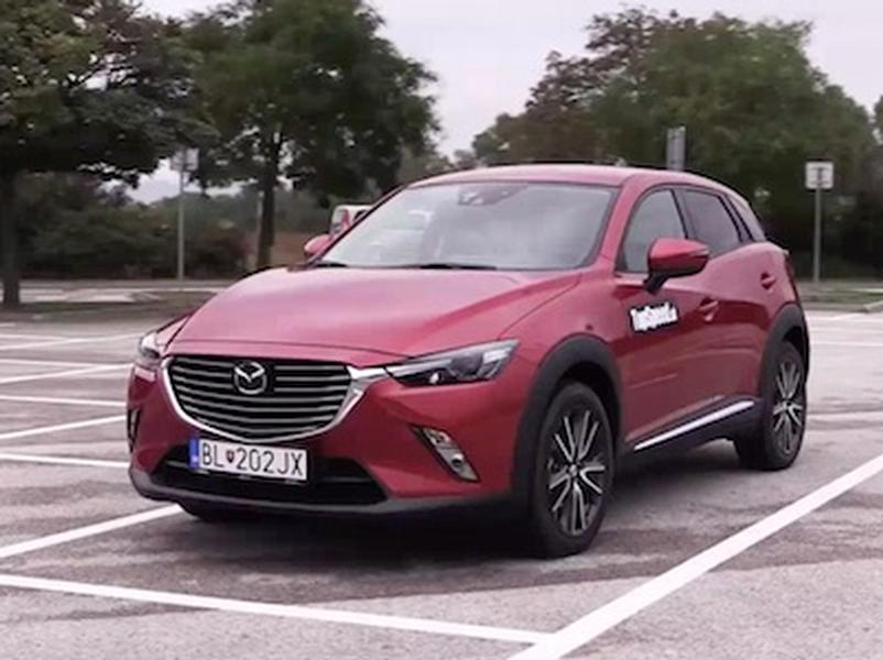 Video test Mazda CX 3 1.5 Skyactive-D AWD