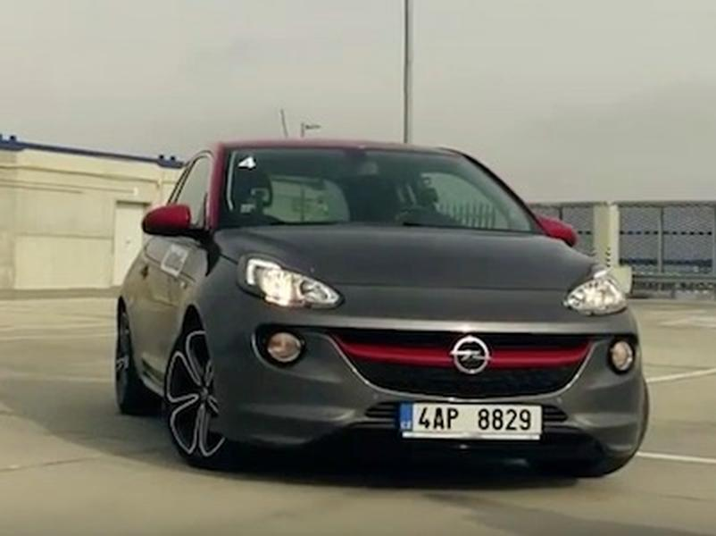 Video test Opel Adam S