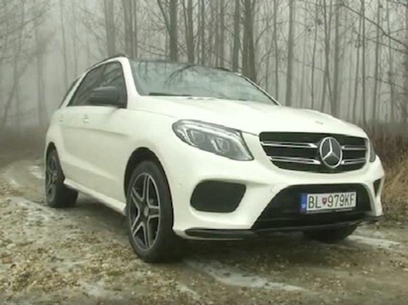 Test Mercedes-Benz GLE 350d