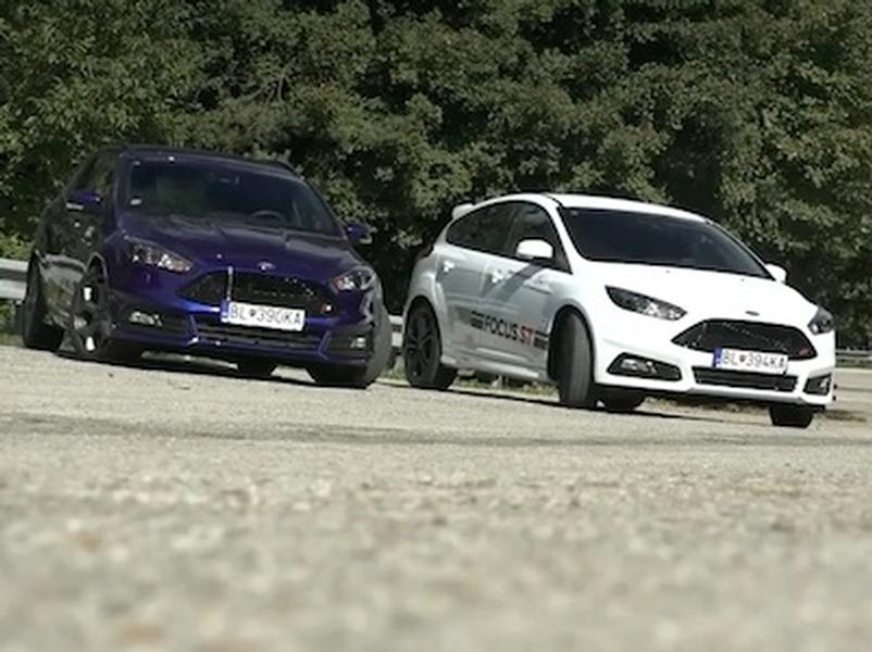 Test Ford Focus ST vs. Ford Focus ST Combi
