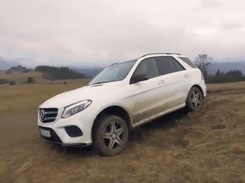 Test Mercedes Benz GLE 350d