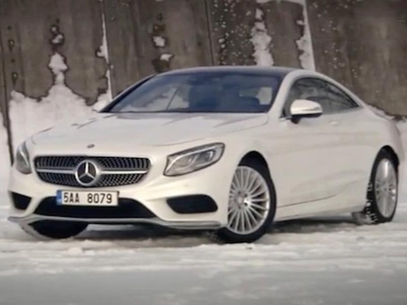 Video test Mercedes-Benz S 500 4Matic Coupé