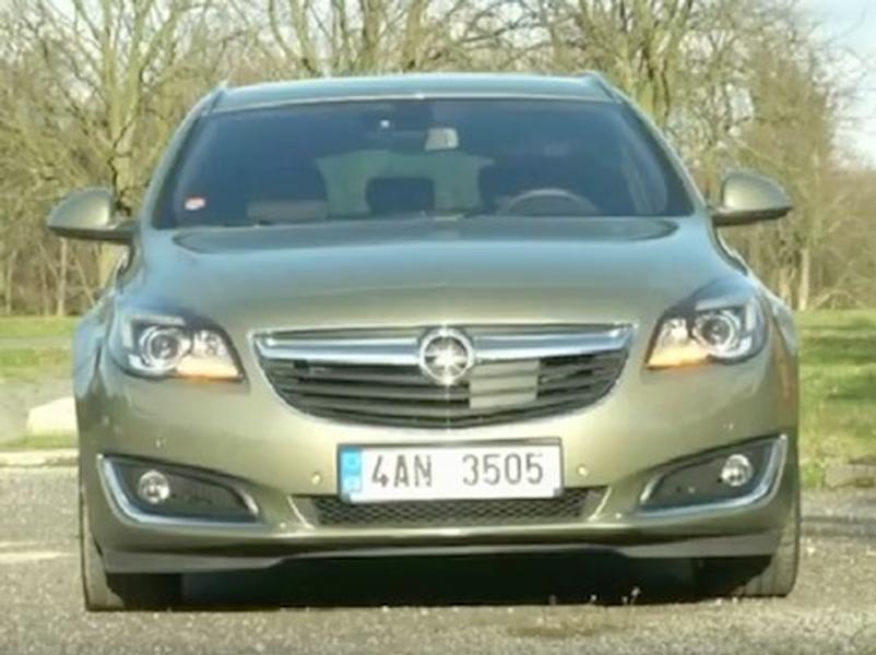 Video test Opel Insignia Sports Tourer