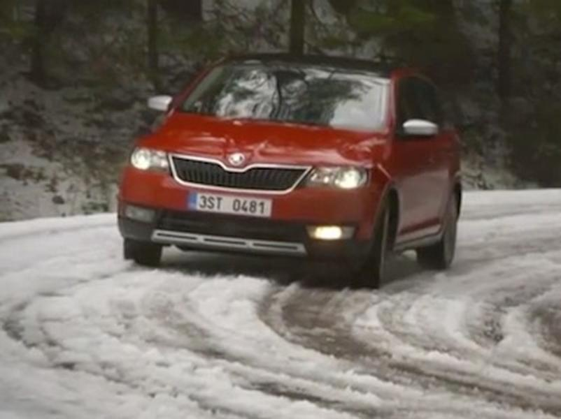 Video test Škoda Rapid Spaceback 1.6 TDI Scoutline
