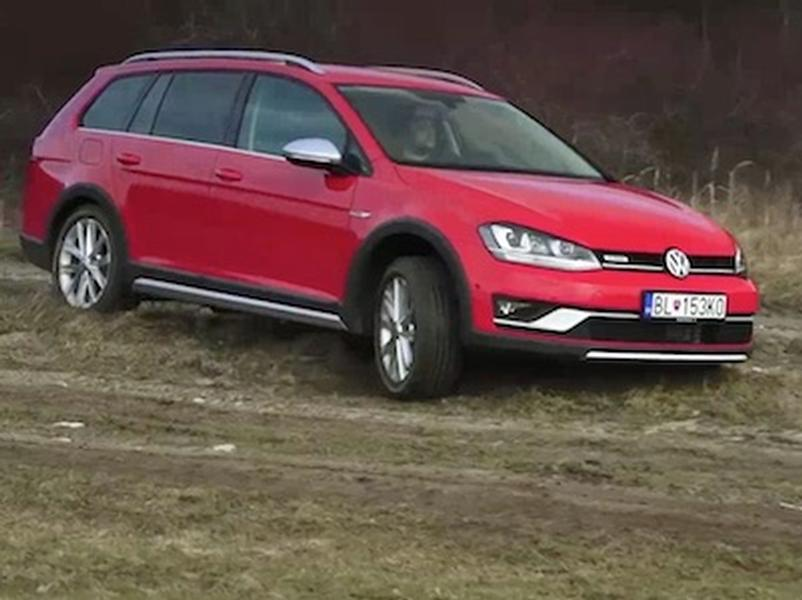 Test Volkswagen Golf Alltrack 2.0 TDI 4MOTION