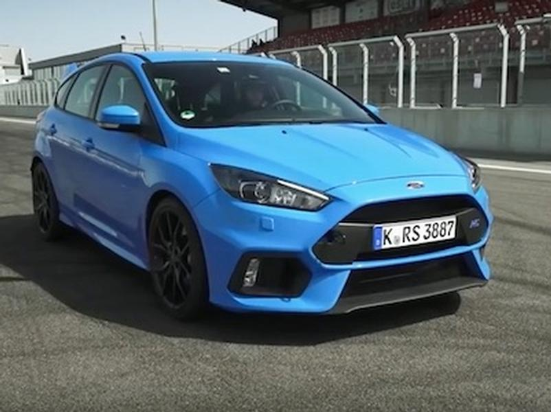 Video test Ford Focus RS
