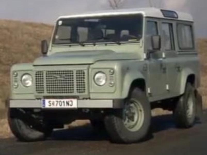 Video test Land Rover Defender