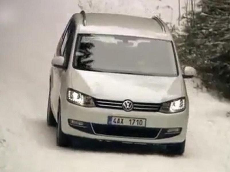 Test Volkswagen Sharan 2.0 TDI  4Motion