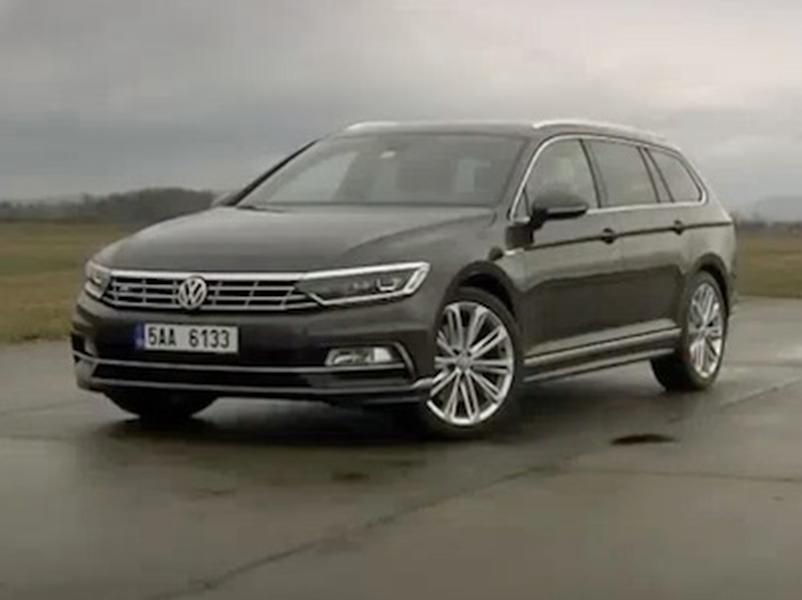 Video test Volkswagen Passat Variant 2,0 BiTDI 4 Motion