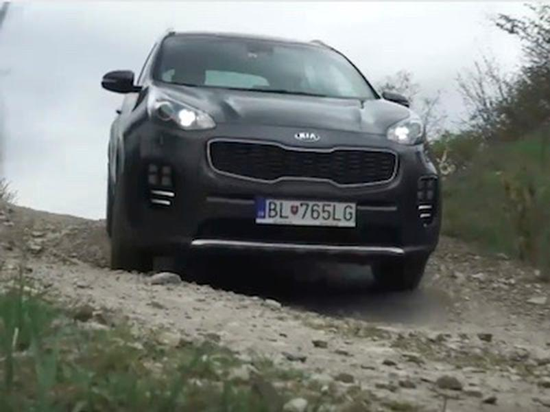 Video test KIA Sportage