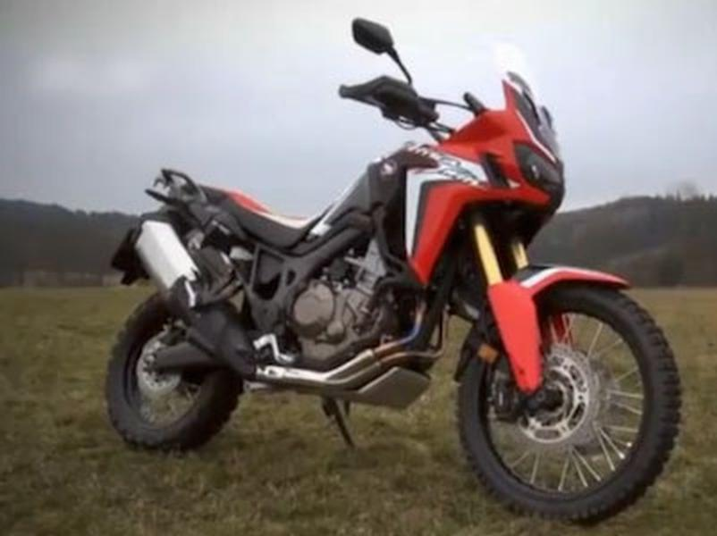 Video test Honda CFR 1000L Africa