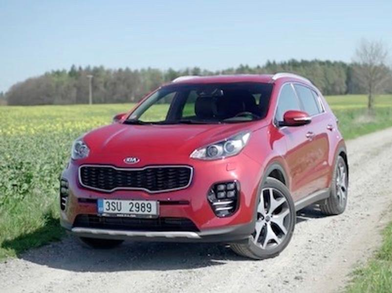 Video test KIA Sportage 1,6 T-GDI