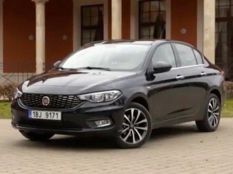 Video test Fiat Tipo 1,6 MJET