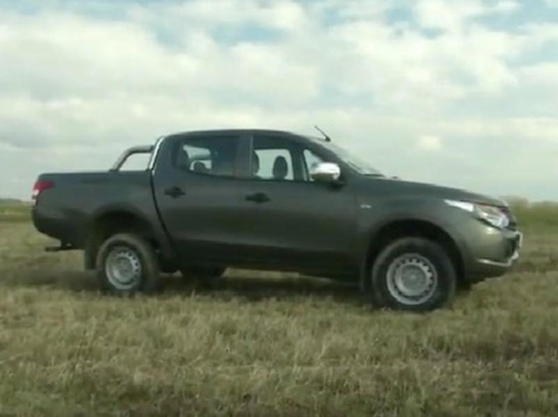 Video test Mitsubishi L200 2.4 DI-D