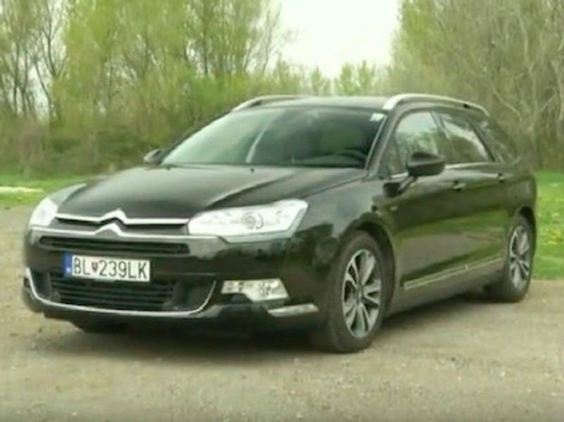 Video test Citroen C5 Tourer
