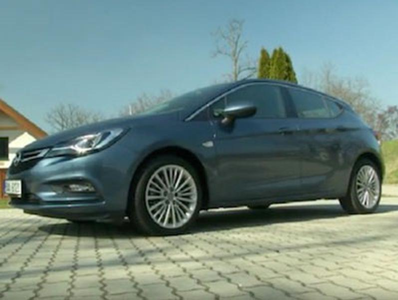 Video test Opel Astra 1,6 CDTI