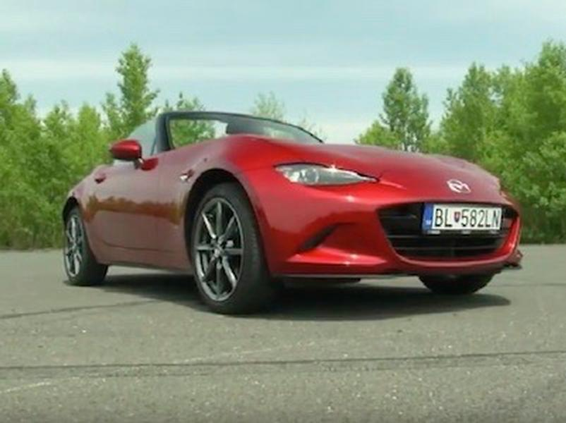Video test Mazda MX-5 2.0