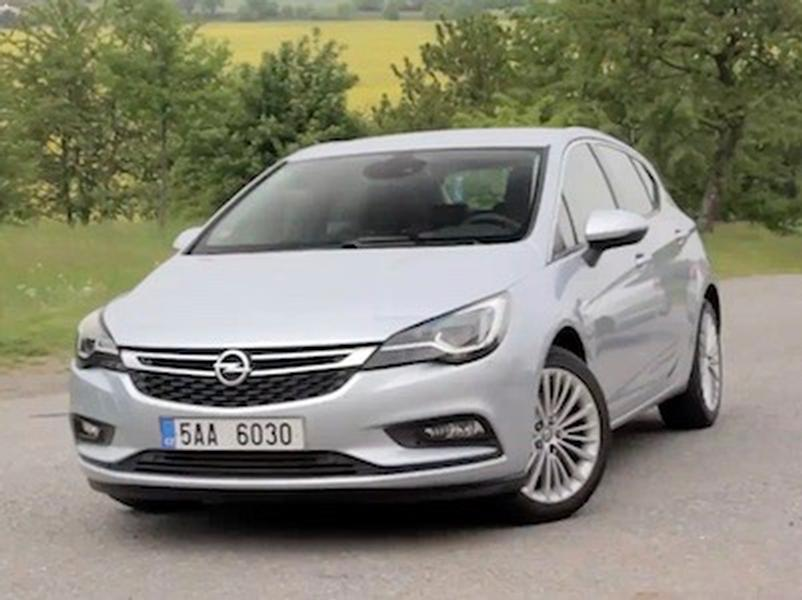 Video test Opel Astra