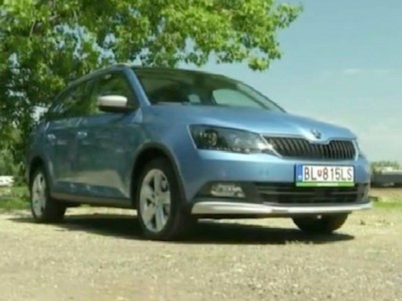 Video test Škoda Fabia Scoutline