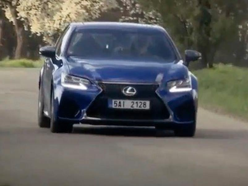 Video test Lexus GS F Top