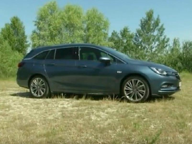Video test Opel Astra ST 1,6 CDTI