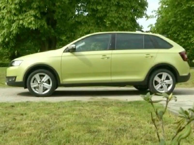 Video test Škoda Rapid Spaceback Scoutline